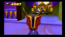 Lets Play Spyro 3: Year of the Dragon - Ep. 27 - The Ninja Gauntlet! (Fireworks Factory 1)