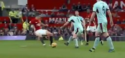 Ander Herrera red card - Manchester United vs Burnley--football skills