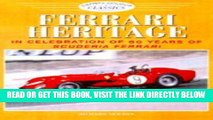 [FREE] EBOOK Ferrari Heritage: In Celebration of 60 Years of Scuderia Ferrari (Osprey Colour