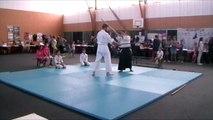 Démonstration d'aïkido forum des associations La Dominelais 03/09/2016