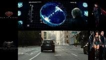 Même scène vue dans 2 films différents : Batman VS Superman / Man of steel