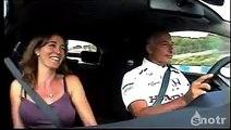 Ancien pilote de Formule 1 il terrorise sa femme au volant d'une voiture de course