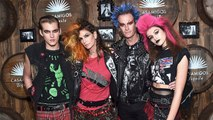 Cindy Crawford and Her Famous Family Dress Like Punk Rockers For Casamigos Halloween Bash