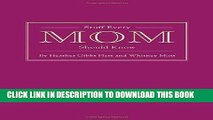 Best Seller Stuff Every Mom Should Know (Stuff You Should Know) Free Read