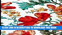 [PDF] Journal Daily: Vintage watercolor paint flowers, Lined Blank Journal Book, 6 x 9, 200 Pages
