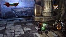 God of war 3 - Guia en español (parte 15) (barra amarilla completa 100%) (modo titan)
