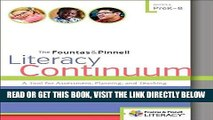 [READ] EBOOK The Fountas   Pinnell Literacy Continuum, Expanded Edition: A Tool for Assessment,