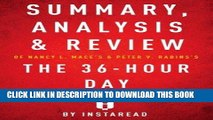 [FREE] EBOOK Summary, Analysis   Review of Nancy L. Mace s   Peter V. Rabins s The 36-Hour Day by
