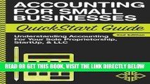 [Free Read] Accounting: For Small Businesses QuickStart Guide - Understanding Accounting For Your