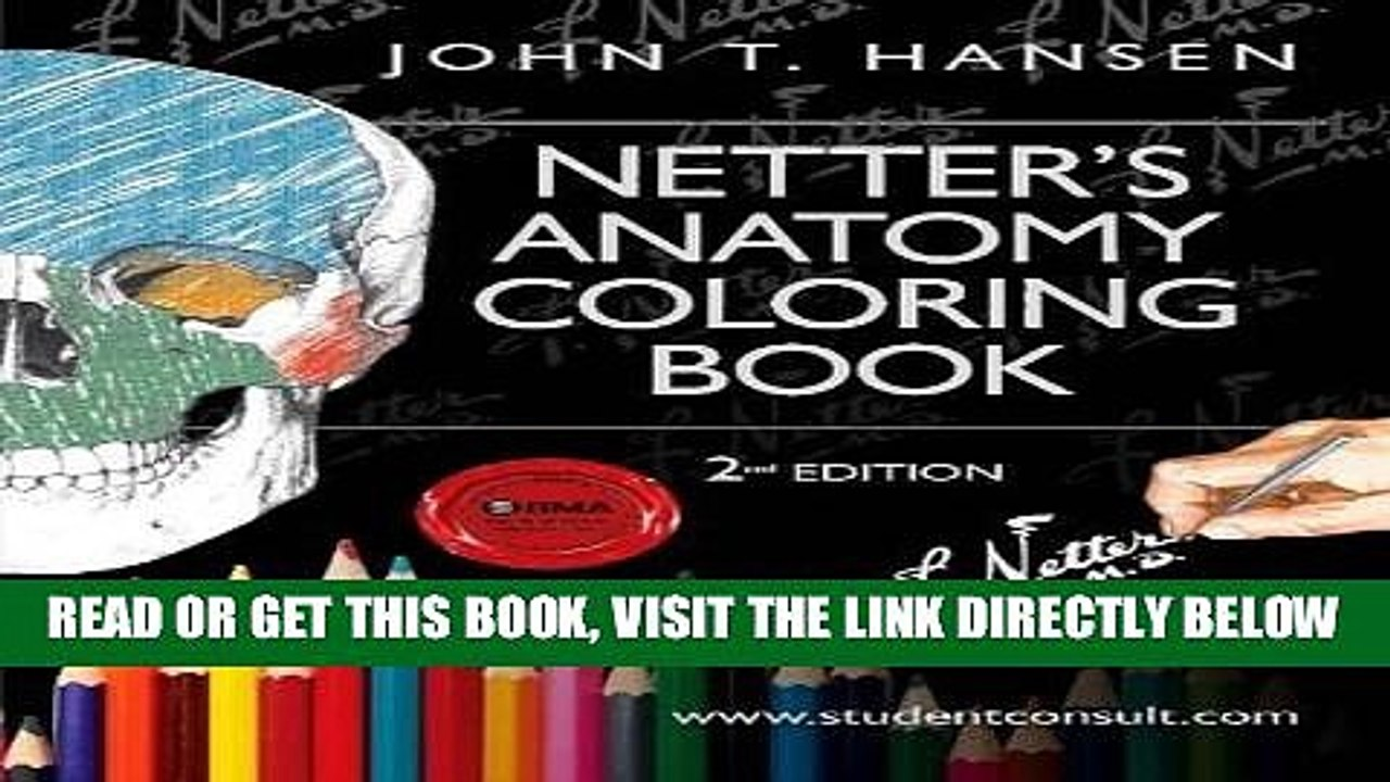 Read Now Netter s Anatomy Coloring Book: with Student ...
