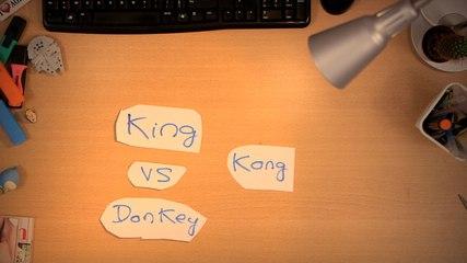 C'est Qui Le Patron ? - KING KONG V.S DONKEY KONG