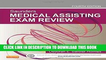 [READ] EBOOK Saunders Medical Assisting Exam Review, 4e ONLINE COLLECTION