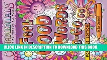 Ebook OrnaMENTALs Feel Good Words To-Go: 50 Portable Feel Good Words to Color and Bring Cheer