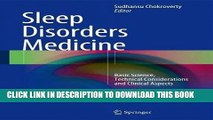 [FREE] EBOOK Sleep Disorders Medicine: Basic Science, Technical Considerations and Clinical