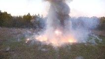 Explosion de 10000 feux d'artifices !!