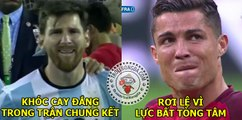 Cristiano Ronaldo & Lionel Messi ● Sad moments & cry moments ● [Công Tánh Football]