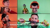 Spongebob Squarepants/teenage Mutant Ninja Turtles Acapella Theme Song Mashup | Nick