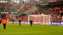 Les U15 au challenge mi-temps du match Rennes - Metz