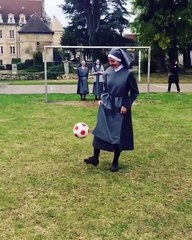 When Even Nuns Play Soccer Like Professionals