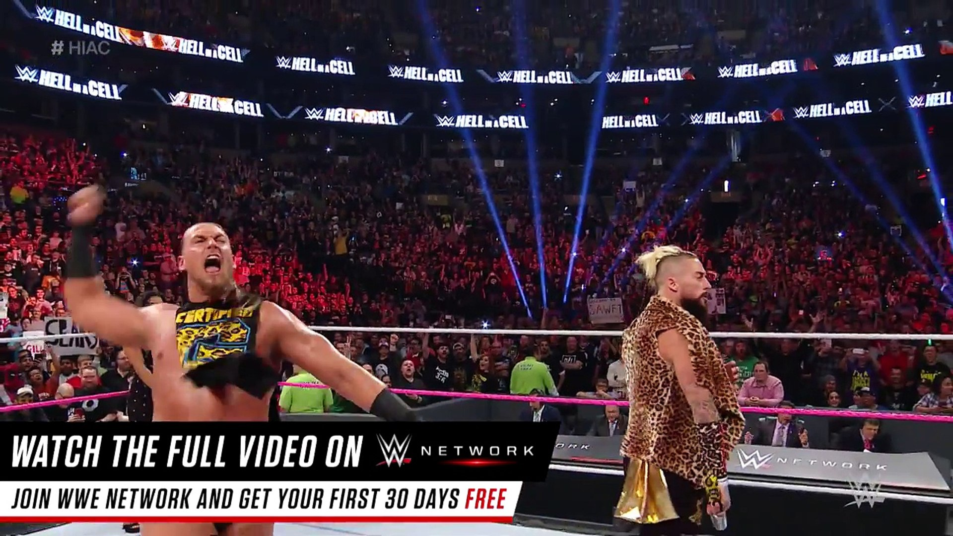 Enzo Amore & Big Cass deliver a wicked introduction to Boston: WWE Hell in a Cell 2016