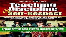 [Free Read] Teaching Discipline   Self-Respect: Effective Strategies, Anecdotes, and Lessons for