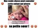 une seule chose peut consoler cette enfant qui pleure