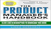 ee Read] The Product Manager s Handbook 4/E Full Online