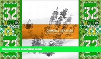 Big Deals  Criminal Behavior: A Psychological Approach (10th Edition)  Full Read Most Wanted