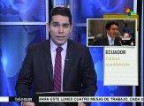 Lamentan partidos políticos de Ecuador la muerte de diputado de AP