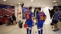 Timelapse - Sessió de fotos del Barça Lassa d'hoquei patins