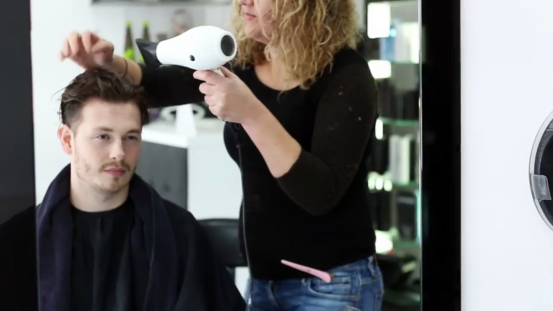 Keratin Hair Treatment - Mens Curly Hair Transformation + How To Style 2016
