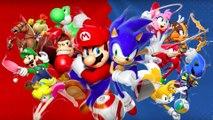Mario Et Sonic Aux Jeux Olympique De Londres 2012=Big Ben=Angleterre