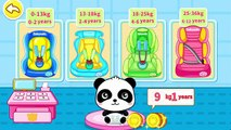 BabyBus Car Safety Seats - Car Doctor Baby Panda and Kids learn Road Safety Education
