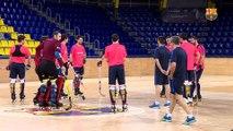 FCB Lassa Hockey: Declaraciones de Ricard Muñoz y Edu Lamas antes del FC Barcelona Lassa - Manlleu