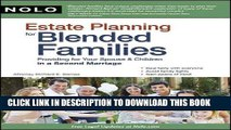 [PDF] FREE Estate Planning for Blended Families: Providing for Your Spouse   Children in a Second