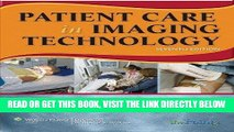 [FREE] EBOOK Patient Care in Imaging Technology (Basic Medical Techniques and Patient Care in