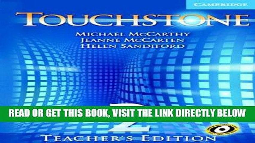 [FREE] EBOOK Touchstone Teacher s Edition 2 Teachers Book with Audio CD (Touchstones) BEST