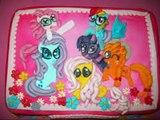 Лучшие ТОРТЫ С ФИГУРКАМИ Май Литл Пони! Best CAKE WITH FIGURINES My little Pony!