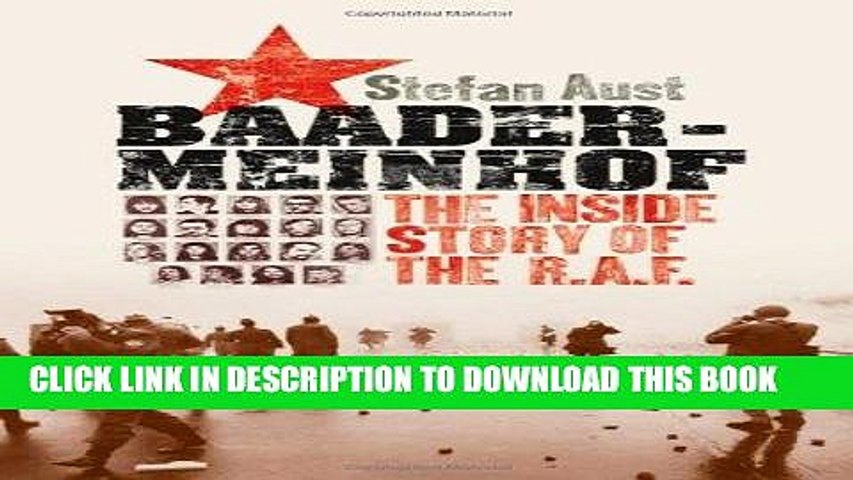 Ebook Baader-Meinhof: The Inside Story of the R.A.F. Free Download