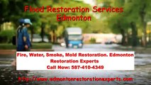 Flood Restoration Services Edmonton