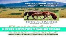 [READ] EBOOK Beyond the Hay Days: Refreshingly Simple Horse Nutrition, Second Edition ONLINE