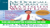 [New] PDF The McDougall Program for Maximum Weight Loss Free Online