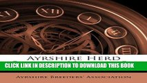 [READ] EBOOK Ayrshire Herd Record, Volume 5... BEST COLLECTION
