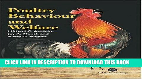 [FREE] EBOOK Poultry Behaviour and Welfare ONLINE COLLECTION