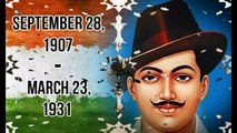 Jai Ho Shaheed Bhagat Singh Bhagat Singh Jayanti SpeciaL Video 2016