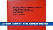 [READ] EBOOK Helminths, Arthropods and Protozoa of Domesticated Animals ONLINE COLLECTION