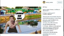 Raffi Ahmad Kocak!! Meme - meme Lucu Banget Liburan Bersponsor ala Raffi, Ngakak Lihatnya!!