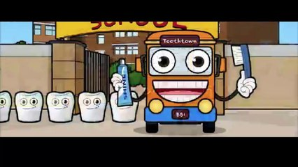 The Brush Bus Song | Nursery Rhymes Song for Kids
