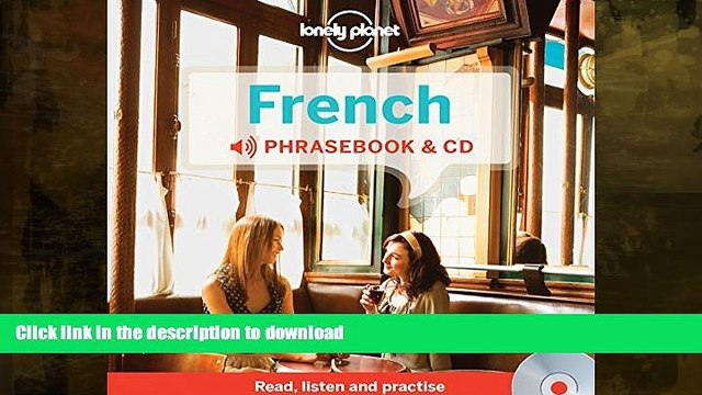 FAVORITE BOOK  Lonely Planet French Phrasebook and Audio CD (Lonely Planet Phrasebook: French)