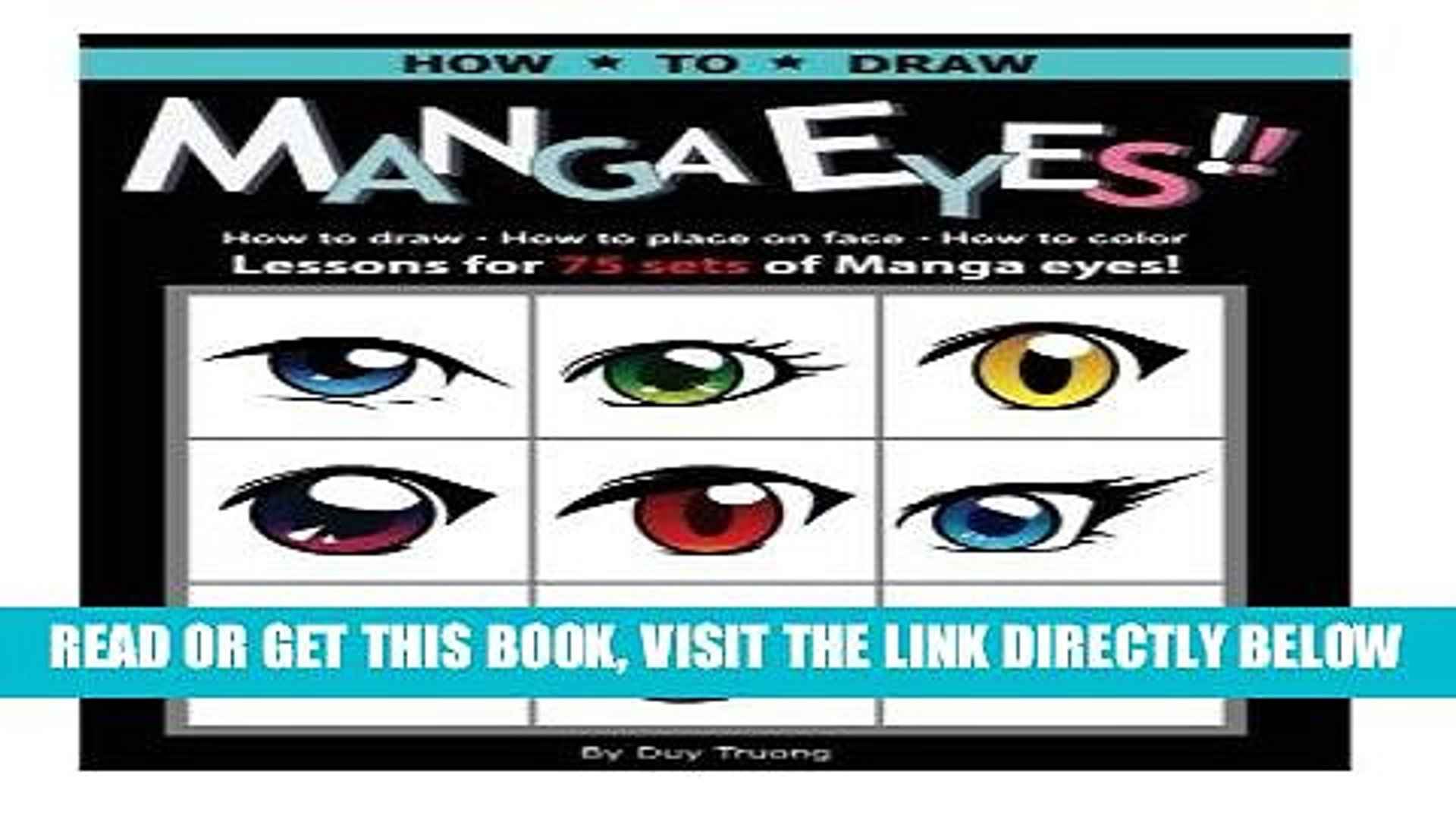 [READ] EBOOK How to draw Manga eyes!! How to Draw- How to Place on Face-How to Color Lessons for